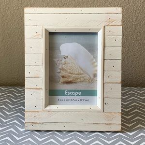NAUTICAL WOOD 5x7 PICTURE FRAME